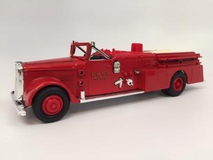 Picture of Ward LaFrance fire truck 1955  FDNY
