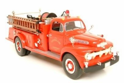 Picture of 1951 Ford F-7 fire pumper - Fayette Fire Co.