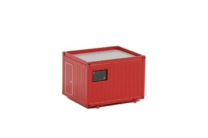 Picture of Ballast container for heavy transport - red