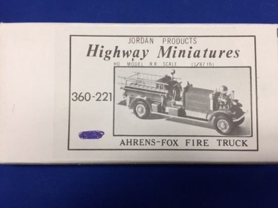 Picture of Ahrens Fox fire truck