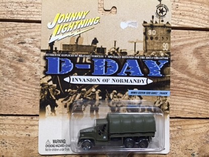 Picture of GMC 6x6 transport soft cab canvas back D-Day