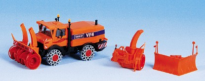 Picture of Unimog Plow with Snow Blower