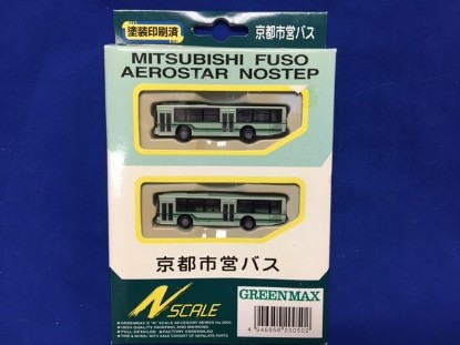 Picture of Mitsubishi Fuso Aerostar Bus Set Light Green/Dark Green