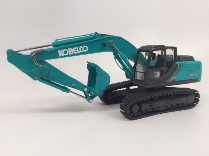 Picture of Kobelco SK210LC track excavator green