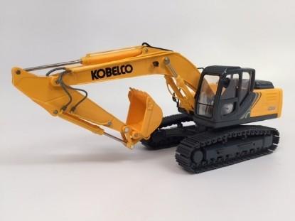 Picture of Kobelco SK210LC track excavator yellow