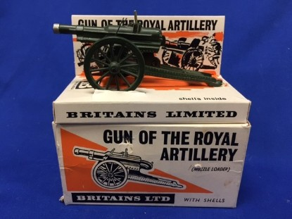 Picture of Gun of the Royal Artillery