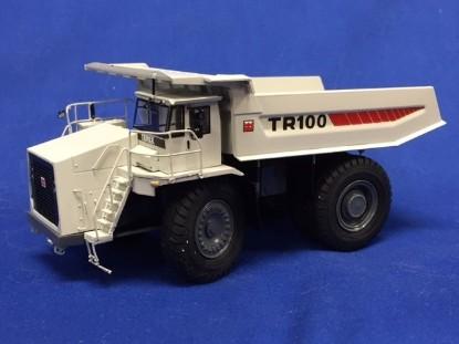 Picture of Terex TR100 dump red stripe white, brass