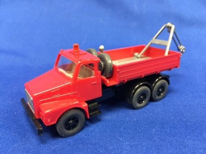 Picture of Volvo Tow Truck - red