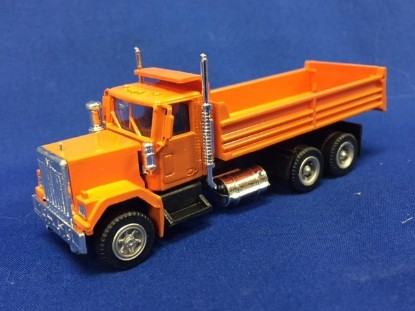 Picture of GMC dump orange