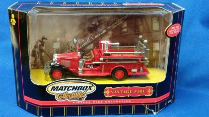 Picture of 1932 Ford AA  open cab Fire Engine
