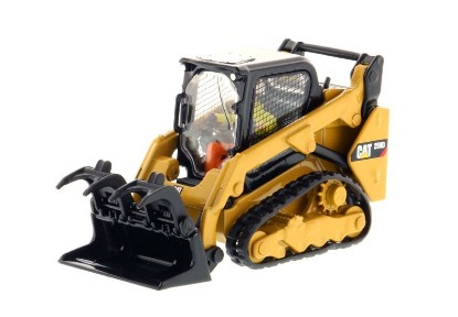 Picture of Caterpillar 259D track loader + 4 attachments