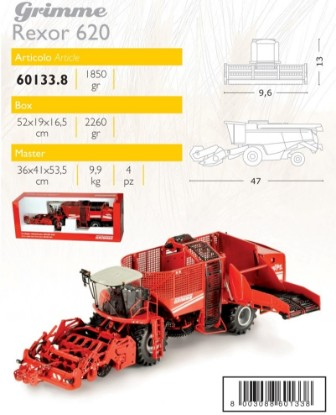 Picture of Grimme Rexor 620 sugar beet harvester