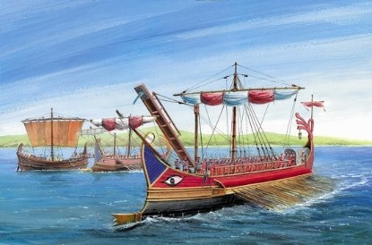 Picture of Roman Trireme