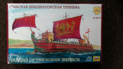 Picture of Roman Trireme of the Emperor