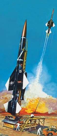 Picture of IM-99 BOMARC ground to air guided missile  kit