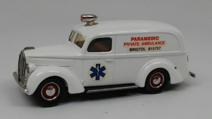 Picture of 1939 Ford ambulance  PARAMEDIC