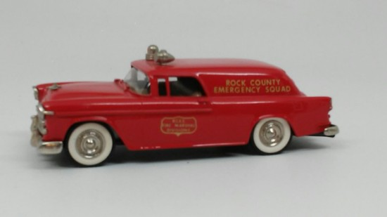 Picture of 1955 Chevrolet fire marshalls truck ROCK COUNTY