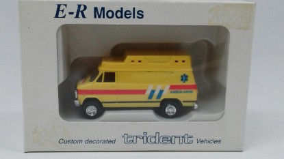 Picture of Chevrolet Ambulance Yellow