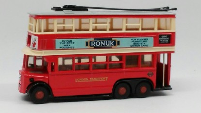 Picture of 1931 A.E.C. trolleybus  DIDDLER