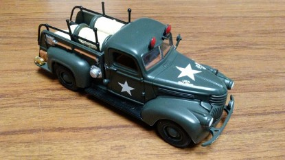 Picture of 1941 Chevrolet fire truck US ARMY