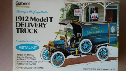 "Picture of Ford Model T ""1912 Delivery Truck"""
