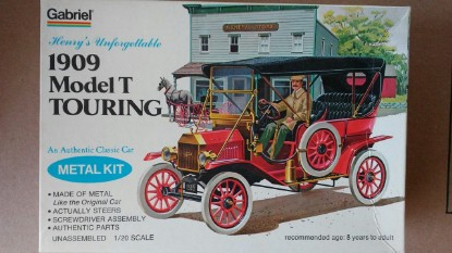 Picture of Ford Model T 1909 touring
