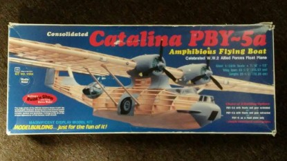 Picture of Catalina PBY-5a amphibious flying boat