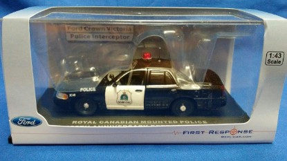 Picture of Ford Crown Victoria - Police Interceptor- RCMP 135th retro