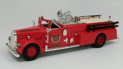 Picture of Ward LaFrance fire truck 1955  CAMBRIDGE FIRE DEPT