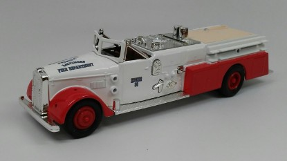 Picture of Ward LaFrance fire truck 1955  BALTIMORE FIRE