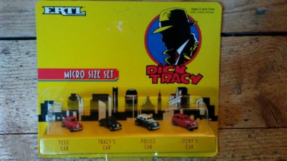 Picture of Dick Tracy micro set