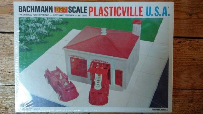 Picture of Fire station  - Plasticville