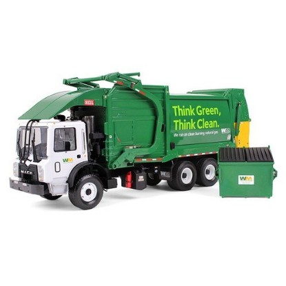 Picture of Mack Terrapro CNG top loading garbage truck WASTE MANAGEMENT