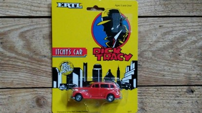 Picture of Dick Tracy Itchy's car