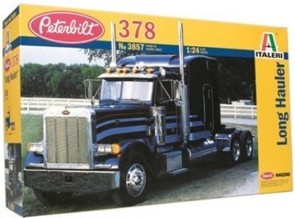 Picture of Peterbilt 378 Long Hauler Tractor Cab w/Sleeper