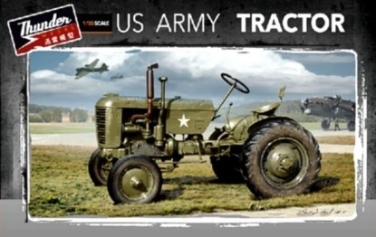 Picture of WWII US Military VA1 Tractor