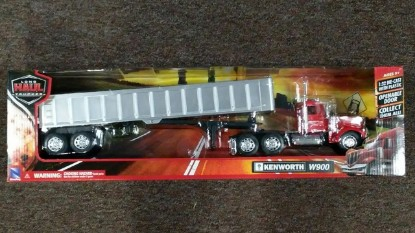 Picture of Kenworth W900 framelss dump (chrome)
