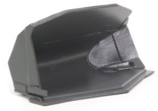 Picture of Gjerstad Large Side Tip Bucket (Grey) Fits Volvo L350 / Komatsu WA600