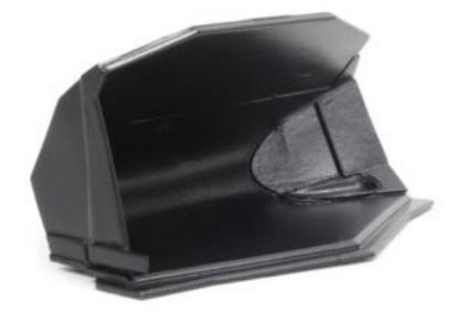 Picture of Gjerstad Large Side Tip Bucket (Black) Fits Cat 988K