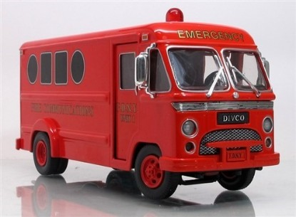 Picture of Divco van FDNY