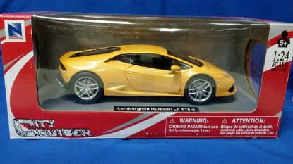 Picture of Lamborghini Huracan LP610-4 - yellow
