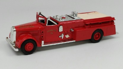Picture of Ward LaFrance fire truck 1955 BOSTON