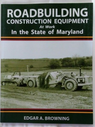 Picture of Roadbuilding Construction Equipment at Work MARYLAND
