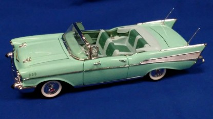 Picture of 1957 Chevrolet Bel Air Convertible -Surf Green
