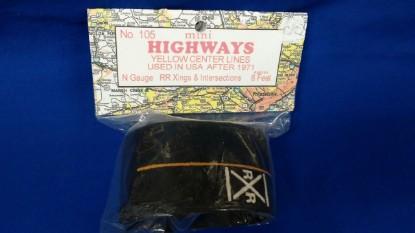 Picture of Mini Highways - 2 intersections & 2 RR Crossings  N gauge