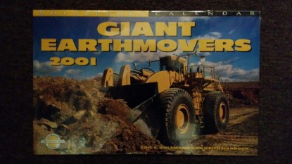Picture of Calendar 2001 Giant Earthmovers