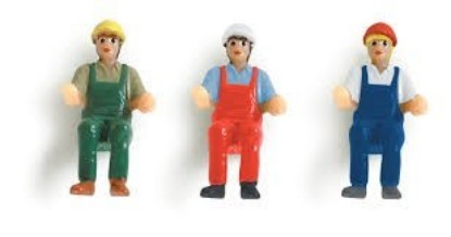 Picture of Driver Figures for Constuction Vehicles 6 Figures