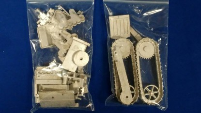 Picture of D8 crawler tractor KIT