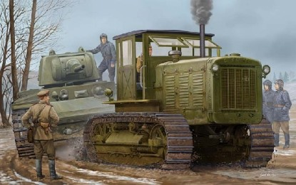 Picture of Russian ChTZ S65 tractor with cab   kit