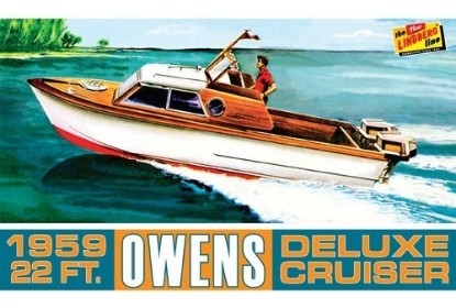Picture of 1959 22ft Owens Outboard Deluxe Cruiser Boat